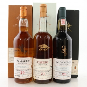 Cask of Distinction Collection 3 x 70cl / Clynelish, Lagavulin, Talisker