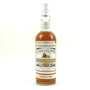Glenlivet 15 Year Old Gordon and MacPhail 100 Proof 1950s