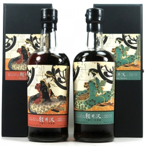 Karuizawa 1999 / 2000 Single Cask #2332 and #2339 2 x 70cl