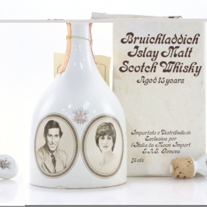 Bruichladdich 15 Year Old Royal Wedding Decanter 1981 / Moon Import