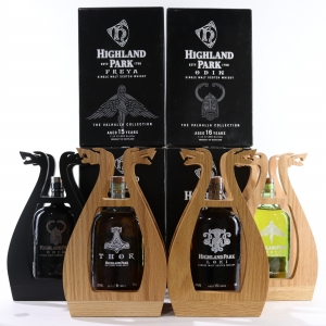 Highland Park Valhalla Collection 4 x 70cl