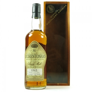 Auchentoshan 1965 Single Cask 31 Year Old