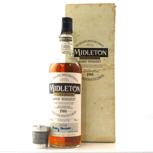 Midleton Very Rare 1986 Edition / with Mullingar Pewter Measure