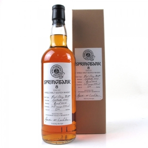 Springbank 2007 Single Cask 8 Year Old / Fresh Sherry Butt