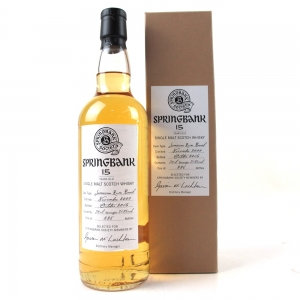 Springbank 2000 Single Cask 15 Year Old / Jamaican Rum Barrel