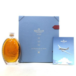 Macallan 1937 Lalique Golden Age of Travel 35 Year Old / The Aeroplane