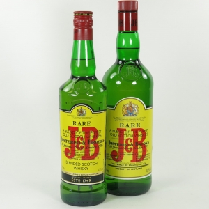 J&B Rare 70cl and 1 litre