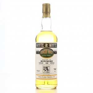 Bowmore 1988 Whyte and Whyte 6 Year Old 75cl / Spirits Library