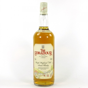 Edradour 10 Year Old 1990s 1 Litre