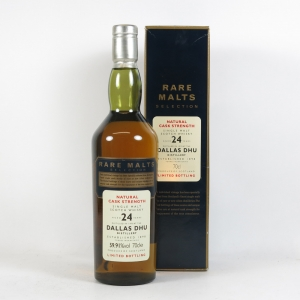 Dallas Dhu 1970 Rare Malt 24 Year Old Front