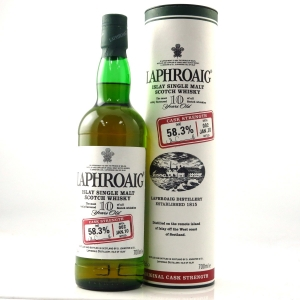 Laphroaig 10 Year Old Cask Strength Batch #002