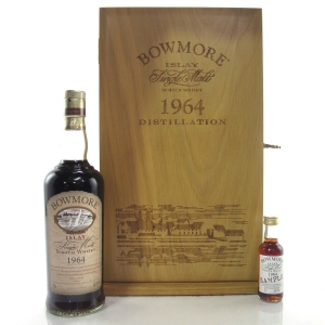 Bowmore 1964 Single Cask 35 Year Old / with Miniature 5cl