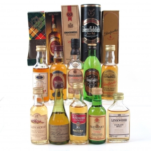 Miscellaneous Speyside Minature Selection 10 x 5cl