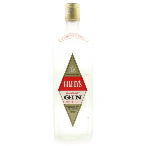 Gilbey's London Dry Gin 1970s