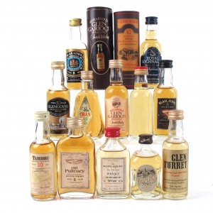 Miscellaneous Highland Miniature Selection 12 x 5cl