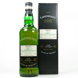 North Port / Brechin 1976 Cadenhead's 21 Year Old 75cl