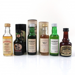 Miscellaneous Islay Miniatures 6 x 5cl