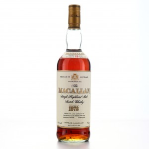Macallan 1978 18 Year Old 75cl / Duty Free