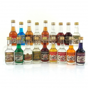 Miscellaneous Liqueur Miniature Selection 18 x 5cl