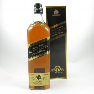 Johnnie Walker Black Label 12 Year old 1 Litre front