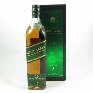 Johnnie Walker Green Label 15 Year Old Front