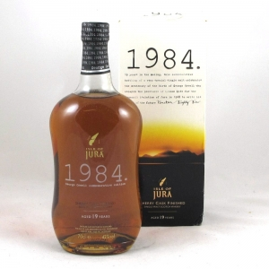 Isle of Jura 1984 (19 Year Old) Front