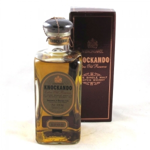 Knockando 1968 Extra old Reserve 75cl Front