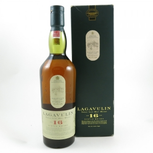 Lagavulin 16 Year Old White Horse Edition Front
