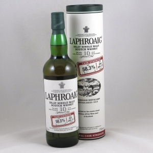 Laphroaig Cask Strength Batch 004 Front