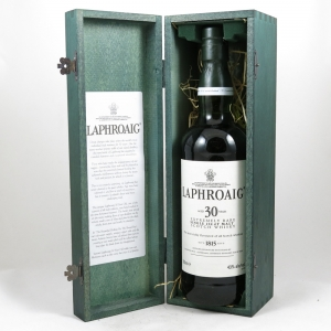 Laphroaig 30 Year Old Front