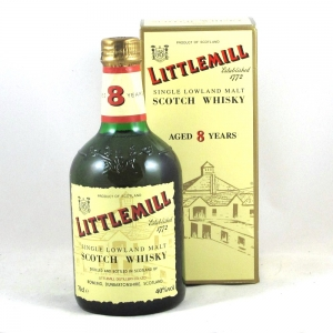 Littlemill 8 Year Old Front