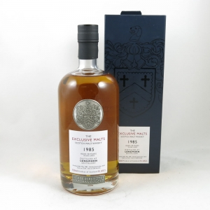Longmorn 1985 'The Exclusive Malts' 28 Year Old front