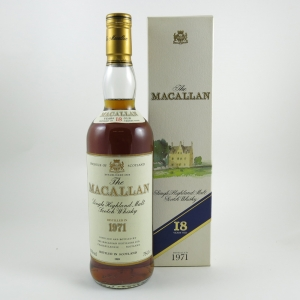 Macallan 1971 18 Year Old front