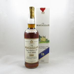 Macallan 1980 18 Year Old front