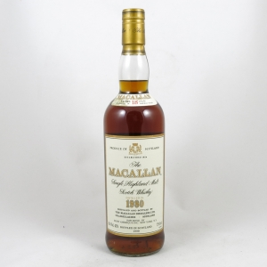 Macallan 1980 18 Year Old 75cl (US Import) Front
