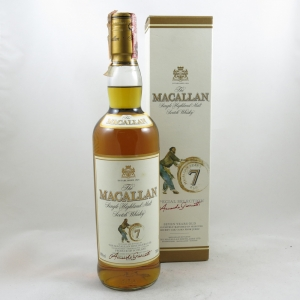 Macallan 7 Year Old 1990s Front