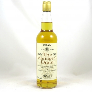 Oban 19 Year Old Manager's Dram 1995 front