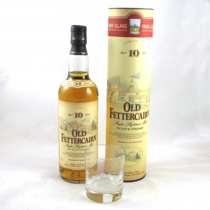 Old Fettercairn 10 year Old (Old Style with Free Glass) Front