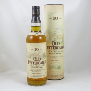 Old Fettercairn 10 Year Old (Old Style) front