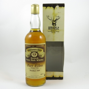 Port Ellen 1969 Gordon and Macphail 15 Year Old front