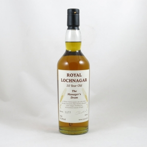 Royal Lochnagar 10 Year Old Manager's Dram 2006 Front