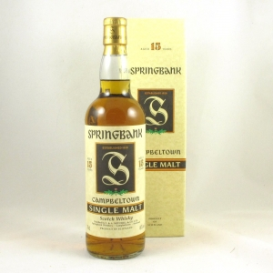 Springbank 15 Year Old 'Green Thistle' Front