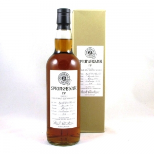 Springbank 1990 Refill Port Hogshead 17 Year Old Front