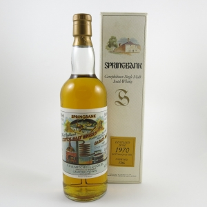 Springbank 1970 Local Barley Cask #1766 front