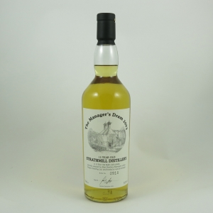 Strathmill 15 Year Old Manager's Dram 2003 front