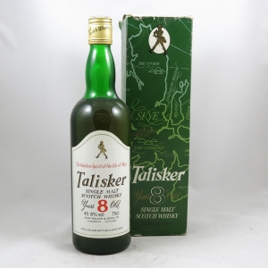 Talisker 8 Year Old 1980s Front