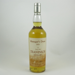 Teaninich 17 Year Manager's Dram 2001 front