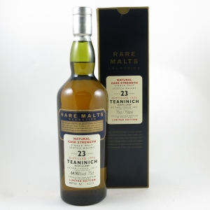 Teaninich 1972 Rare Malt 23 Year Old front