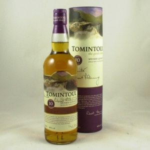 Tomintoul 10 Year Old (Water of Life Challenge) Front