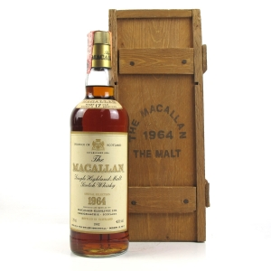 Macallan 1964 17 Year Old